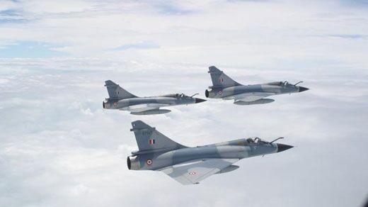 वायुसेना ने सौंपे हवाई हमले के दस्तावेज