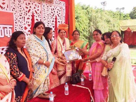 भाजपा ने आयोजित किया विजय संकल्प महिला सम्मेलन