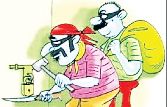 जीजी ग्रुप के चेयरमैन का सूना घर देख चोरों ने किया हाथ साफ