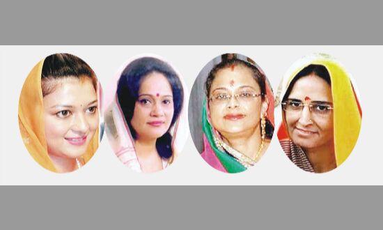 साख बचाने नेता पत्नियों पर दांव