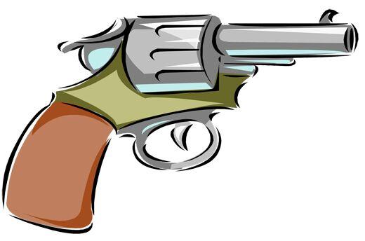 कैंसर पहाड़ी पर बंदूकों के साथ दो बदमाश दबोचे