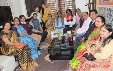 संस्कार भारती ने आयोजित किया काव्य समारोह