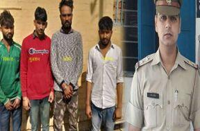 अवैध शराब बनाने वाले गिरोह के चार सदस्य गिरफ्तार