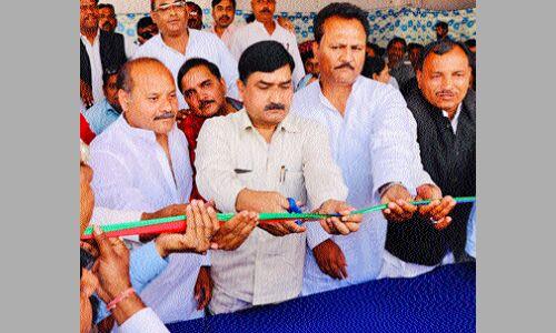 संजय प्लेस में खुला मनोज सोनी का चुनाव कार्यालय