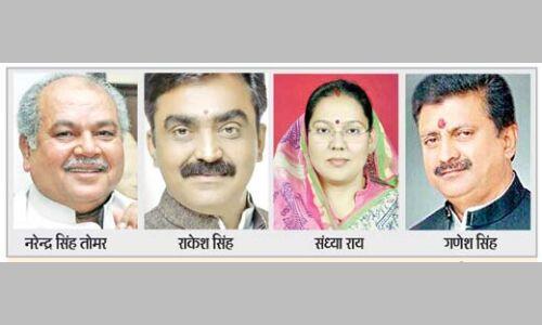 #Loksabha2019 : नरेन्द्र सिंह तोमर मुरैना से, सात सीटों पर बदले चेहरे