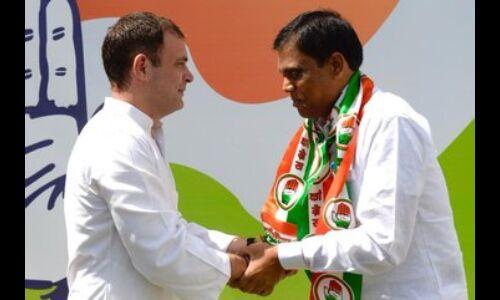 भाजपा सांसद दोहरे कांग्रेस में शामिल