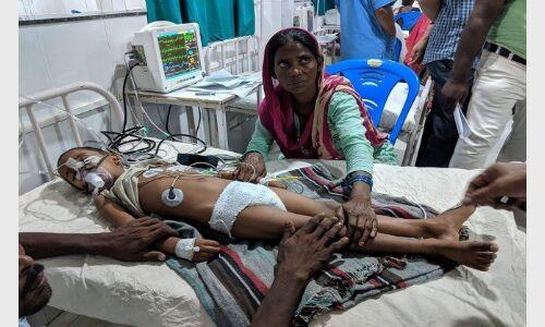 मुजफ्फरपुर में चमकी बुखार से तीन और बच्चों की मौत,  4 की हालत गंभीर
