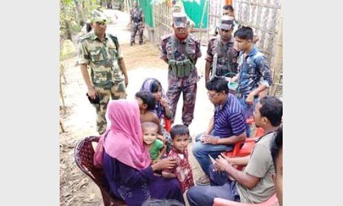 जीरो लाइन पर डटे 12 रोहिंग्या, बांग्लादेश वापसी को तैयार नहीं