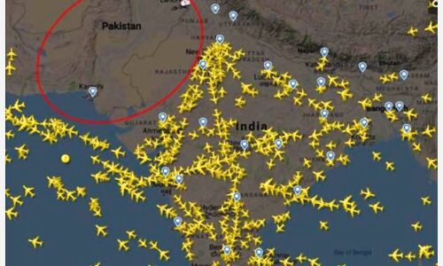 पाकिस्तान ने भारत के लिए बंद किया एयरस्पेस
