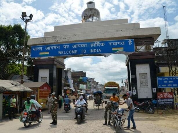 नेपाल सीमा पर एसएसबी ने बढ़ाई चौकसी