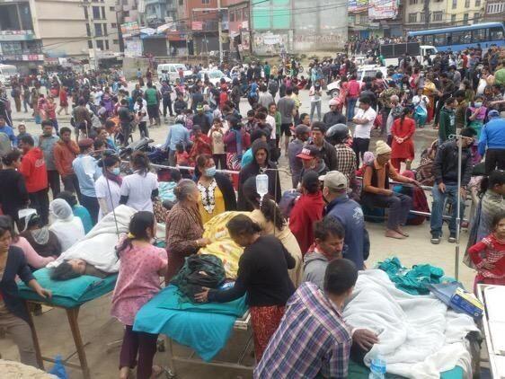 नेपाल में भूकंप से मरने वालों की संख्या 597 पहुंची