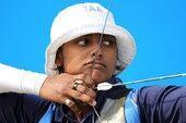 दीपिका ने  तीरंदाजी में दिलाया स्वर्ण, भारत चौथे स्थान पर