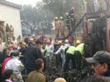 दिल्ली में बीएसएफ चार्टर्ड विमान दुर्घटनाग्रस्त, 10 की मौत
