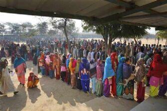 दिल्ली में मतदान शांतिपूर्ण संपन्न