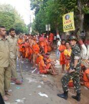 देवघर के बैद्यनाथ मंदिर में भगदड़, 11 कांवरियों की मौत