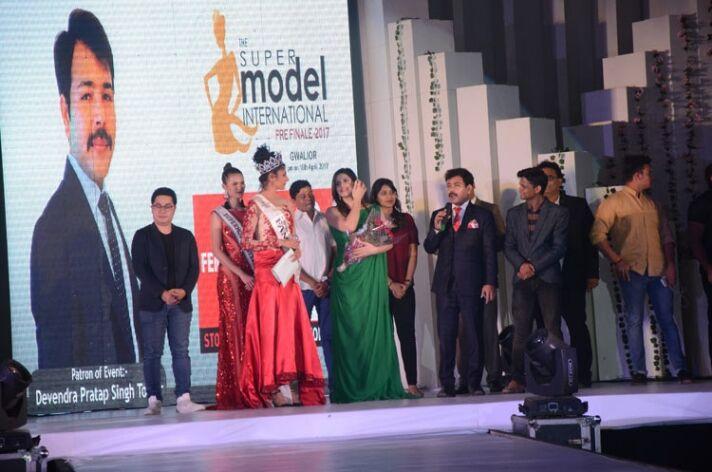 द सुपर मॉडल इंटरनेशनल के प्री-फिनाले का आयोजन संपन्न