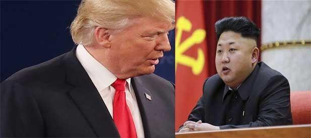 अमेरिका के राष्ट्रपति ने उत्तर कोरिया को दी चेतावनी