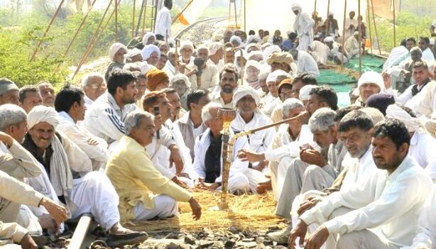 हरियाणा में जाट आरक्षण आंदोलन के मद्देनजर राज्य के कई हिस्सों में धारा 144 लागू