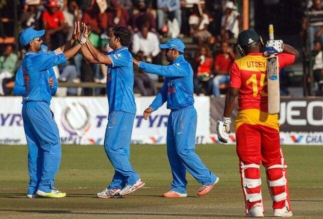हरारे वनडे : भारतीय गेंदबाजों के सामने जिम्बाब्वे 126 पर ढेर