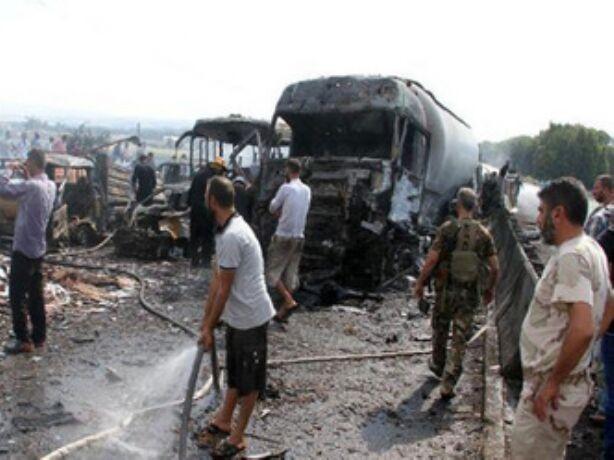 सीरिया में धमाके, 48 लोगों की मौत
