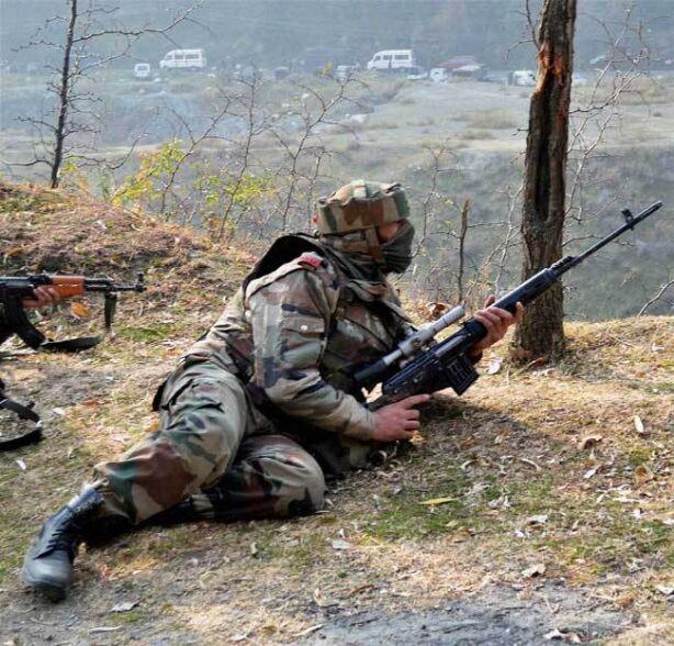 सीमा पर जवाबी कार्रवाई में पाकिस्तान के 10 रेंजर्स ढेर
