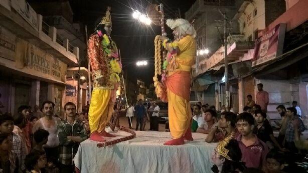 सीता स्वयंवर रचा, राम जी ने तोड़ा धनुष