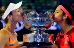 सानिया-हिंगिस की जोड़ी ने जीता आस्ट्रेलियन ओपन