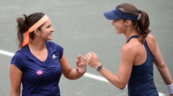 सानिया-हिंगिस की जोड़ी विंबलडन टेनिस के दूसरे दौर में